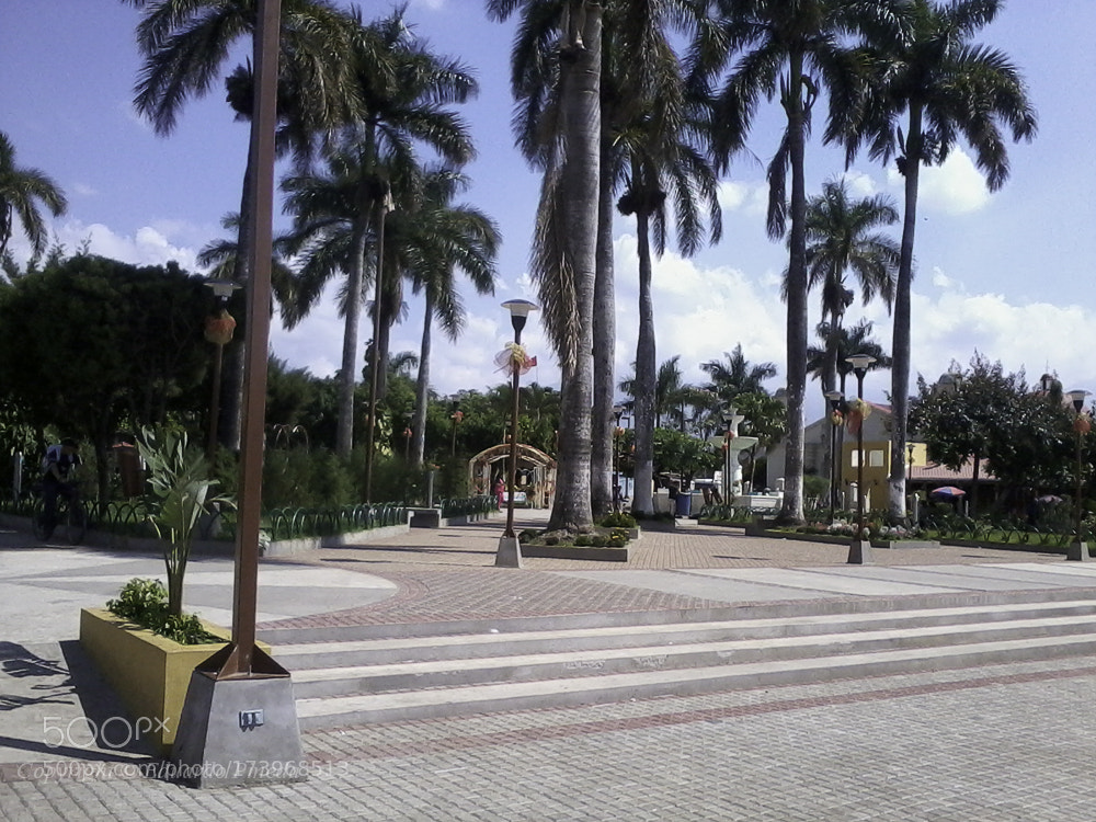 Plaza de Nahuizalco Sonsonate photography
