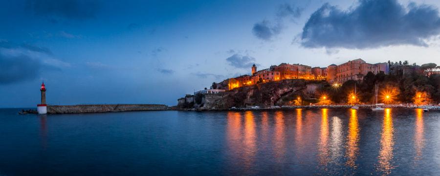 Pano Bastia Corsica Early Morning