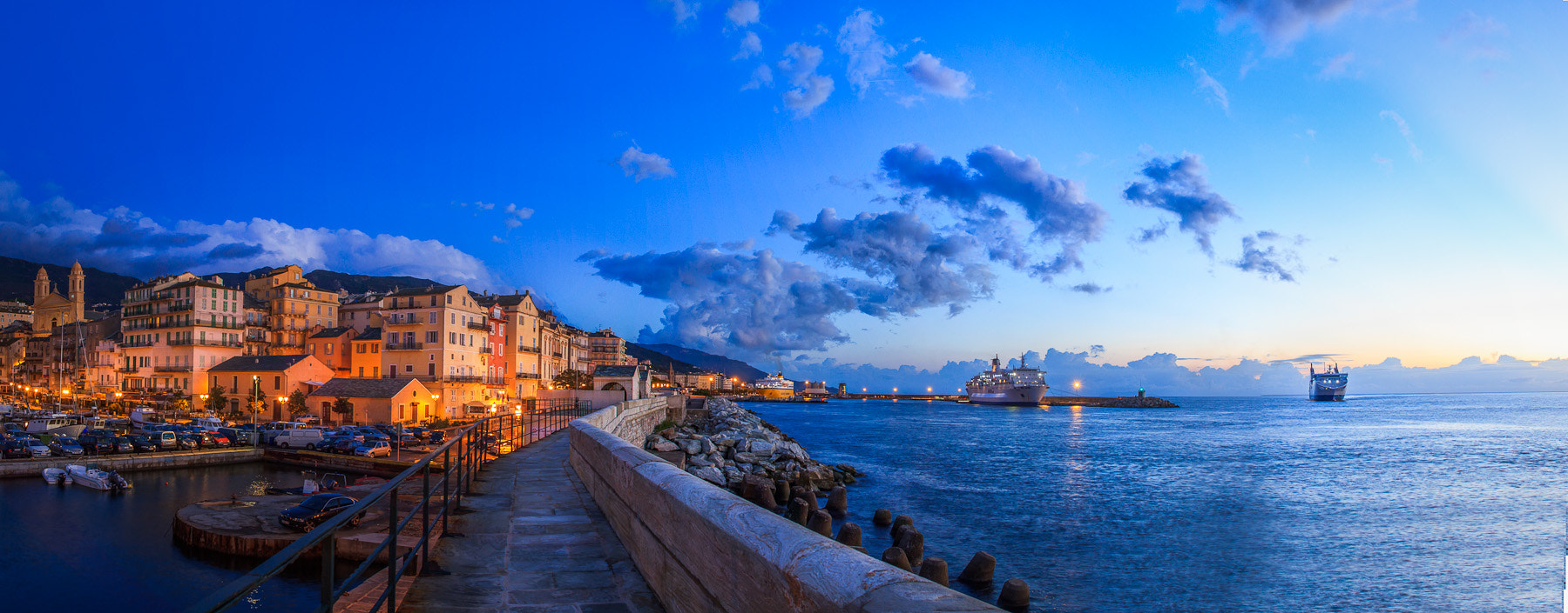 Photograph Pano Bastia Corsica Early Morning II by Ramelli Serge on 500px