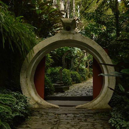 Entrada al Castillo Surrealista de Edward James