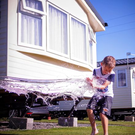 Water fight, Sony SLT-A58