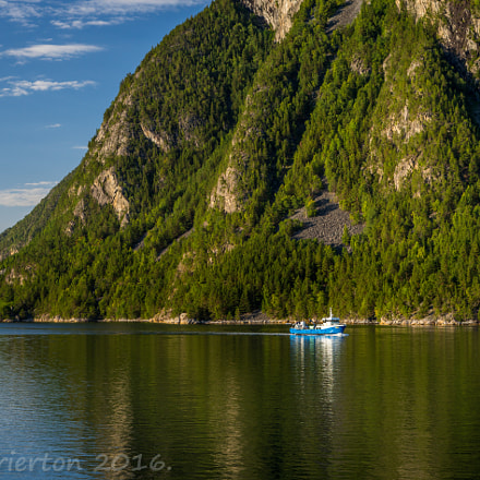 The Blue Boat in, Sony SLT-A99V, Sigma 28-70mm EX DG F2.8