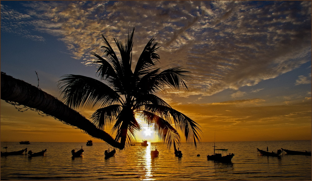 Photograph koh tao sunset 1 by colin beeley on 500px