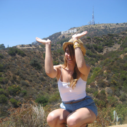 pretty girl in Hollywood (), Canon POWERSHOT SD600
