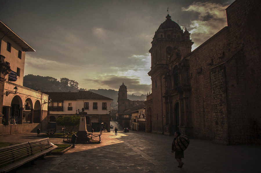 Cusco Street by Ivan Miskalo on 500px.com