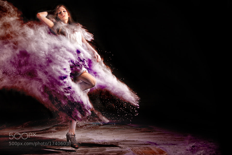 Photograph flour shoot by Sebastian Engler on 500px