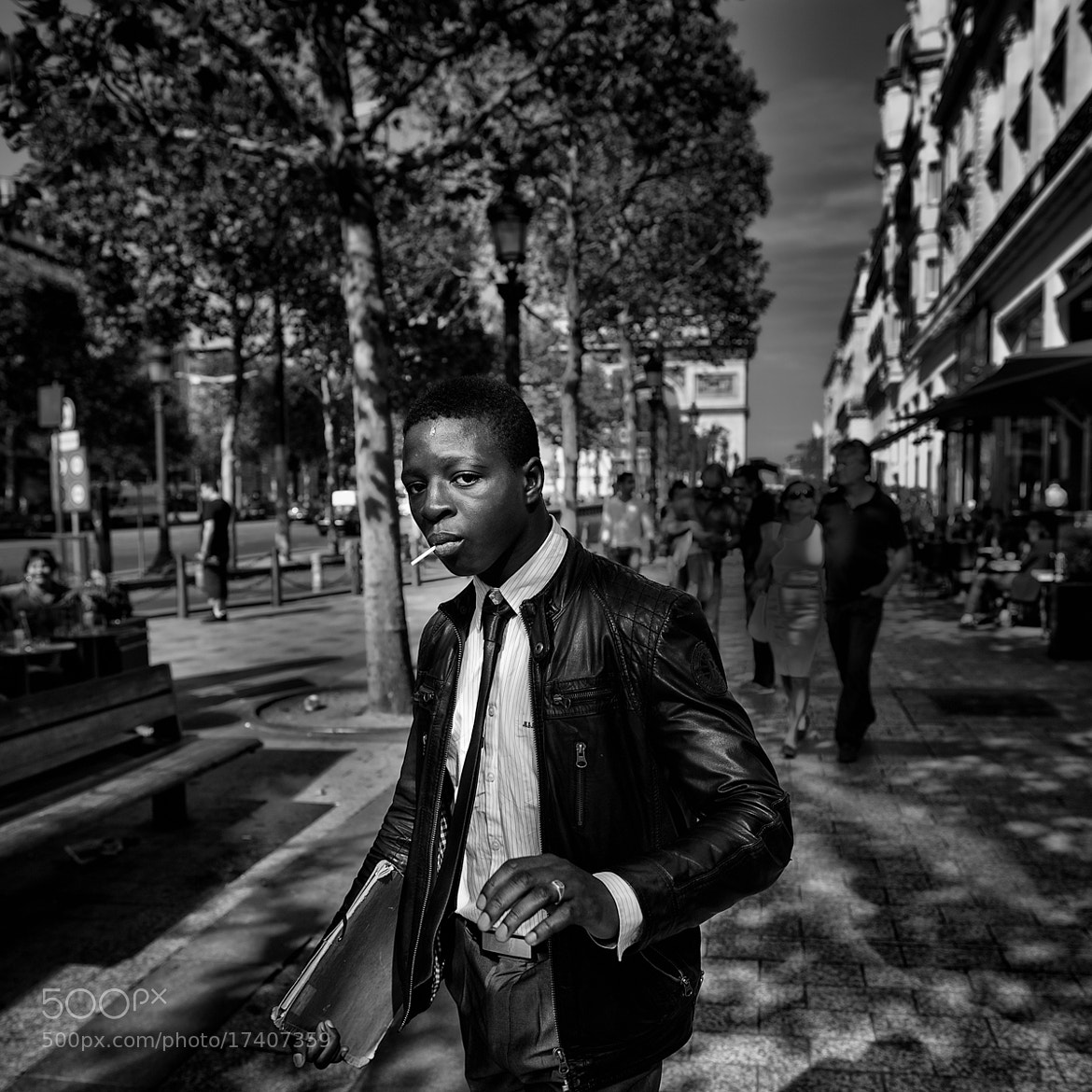 Photograph Avenue des Champs-Elysées by Christophe Debon on 500px
