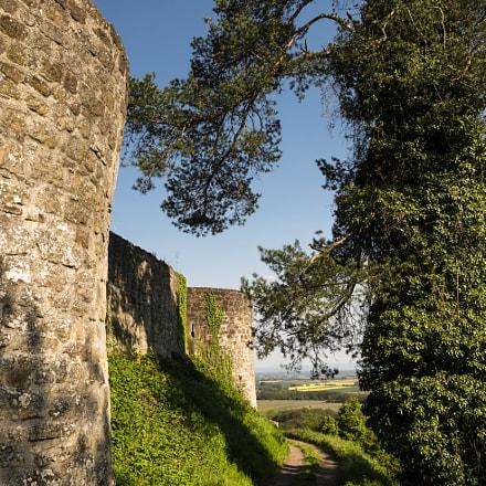 Path around the castle