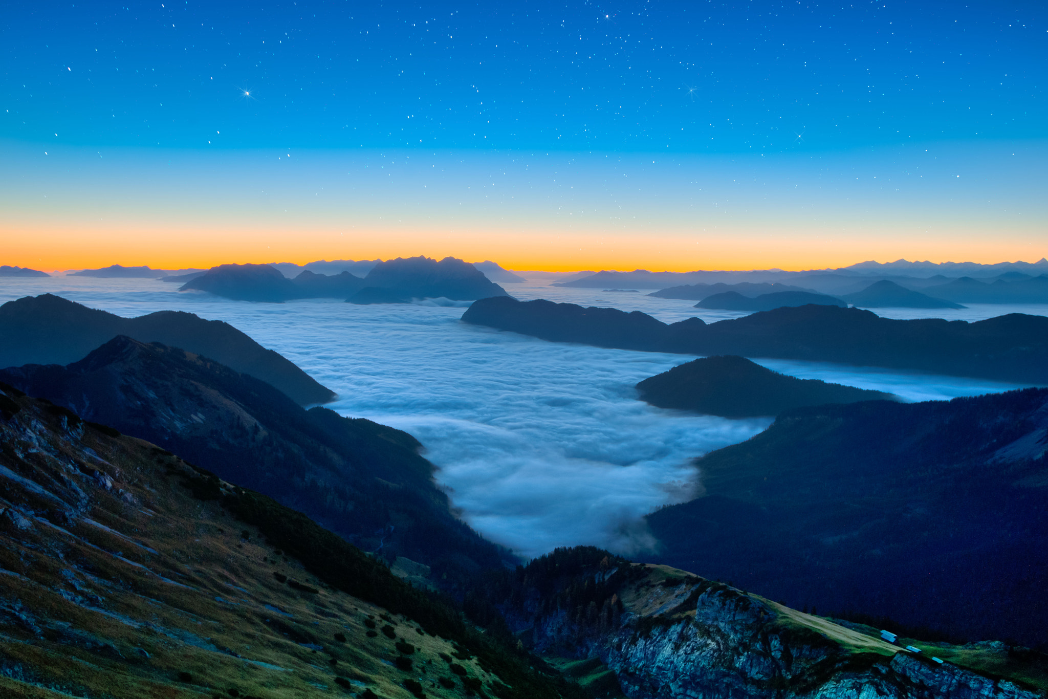 Photograph Sea of clouds by Stefan Thaler on 500px