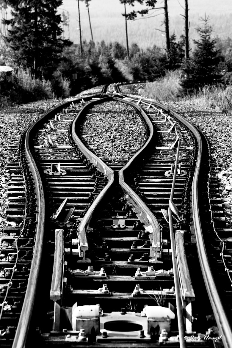 Photograph Railway switches by Jan Hampl on 500px