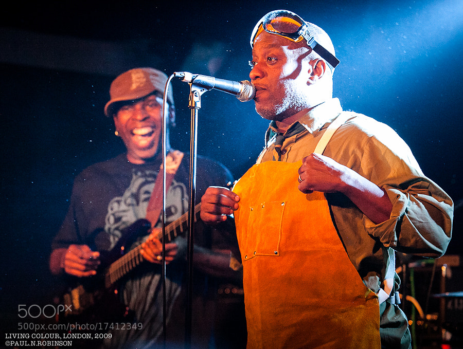 LONDON, UK, 2009. Living Colour @ The Relentless Garage featuring Corey Glover, Vernon Reid, Doug Wimbish, and Will Calhoun.