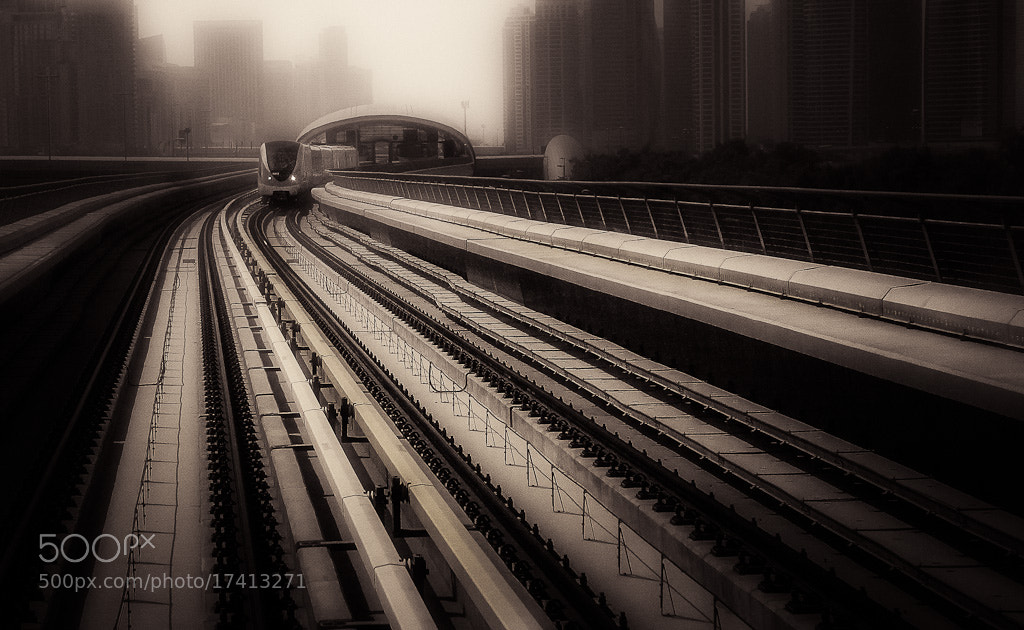 Photograph Morning train by Nima Moghimi on 500px
