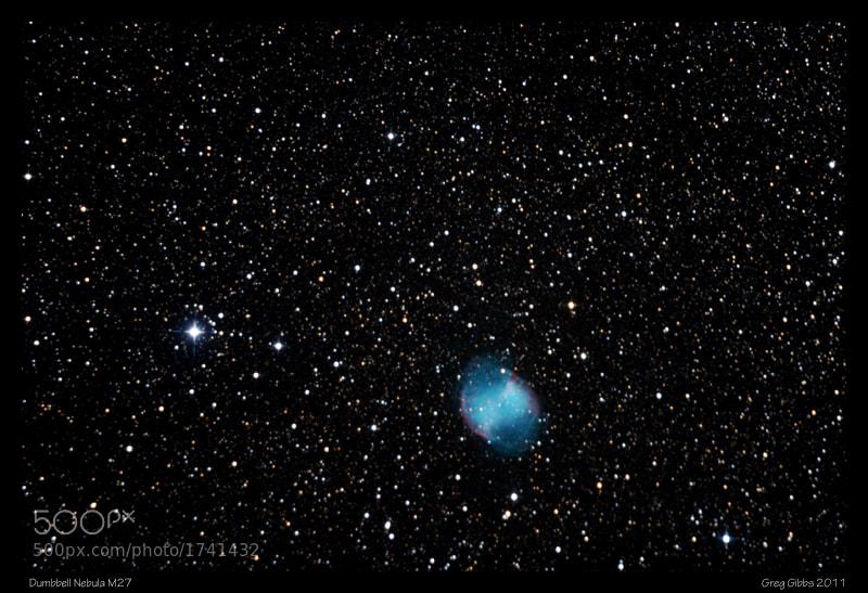 Photograph Dumbbell Nebula by Greg Gibbs on 500px