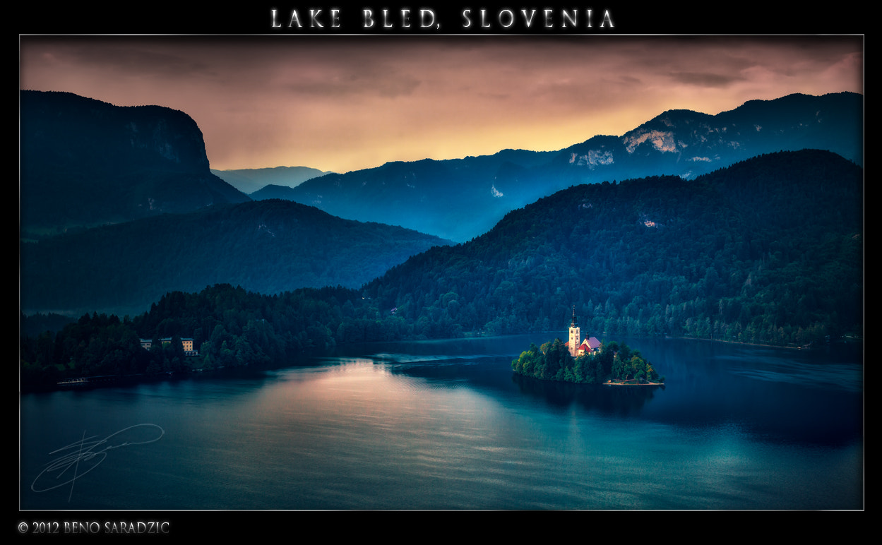 Photograph Lake Bled in Slovenia II by Beno Saradzic on 500px