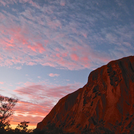 Uluru Sunrise, Canon POWERSHOT SD800 IS