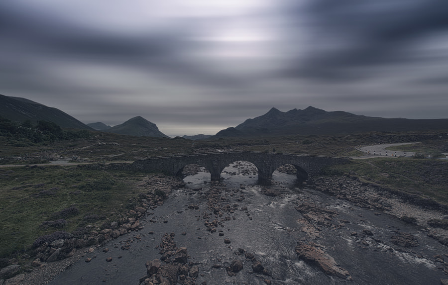 Sligachan Bridge Isle of Skye, Scotland