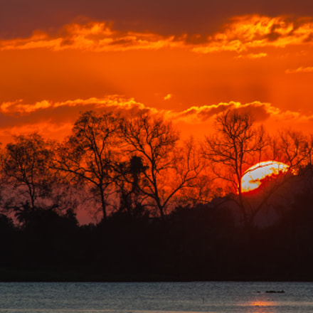 The evening sunset at, Nikon D700, Nikkor 500mm f/4 P ED IF