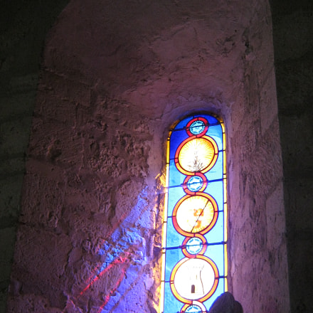 Stained Glass, Canon POWERSHOT A490