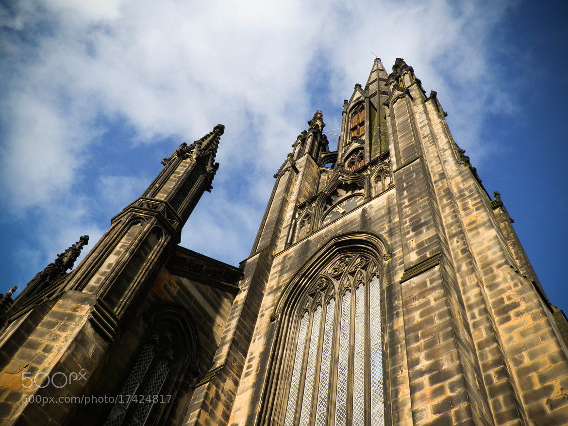 Photograph Edinburgh Church by Inbal Rubin on 500px