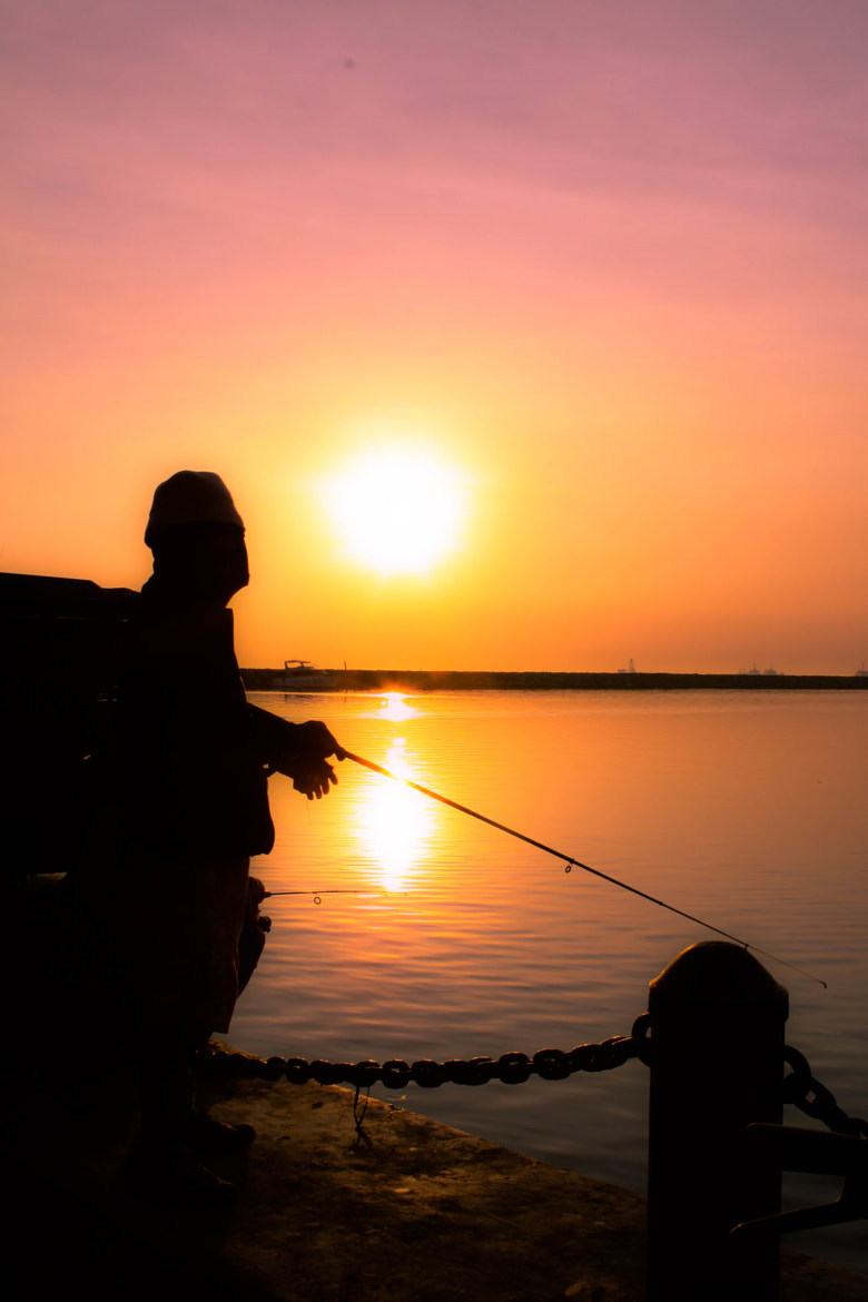 Photograph No Fishing by dave balisi on 500px