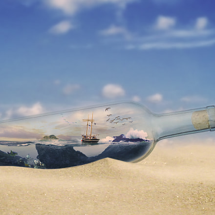 Ship in a Bottle, Canon POWERSHOT A60