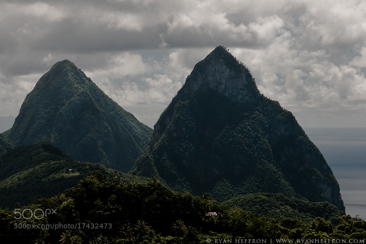 Photograph Pitons by Ryan Heffron on 500px