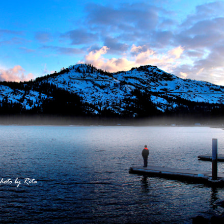 Donner Lake, CA, Canon EOS 700D, Canon EF 22-55mm f/4-5.6 USM