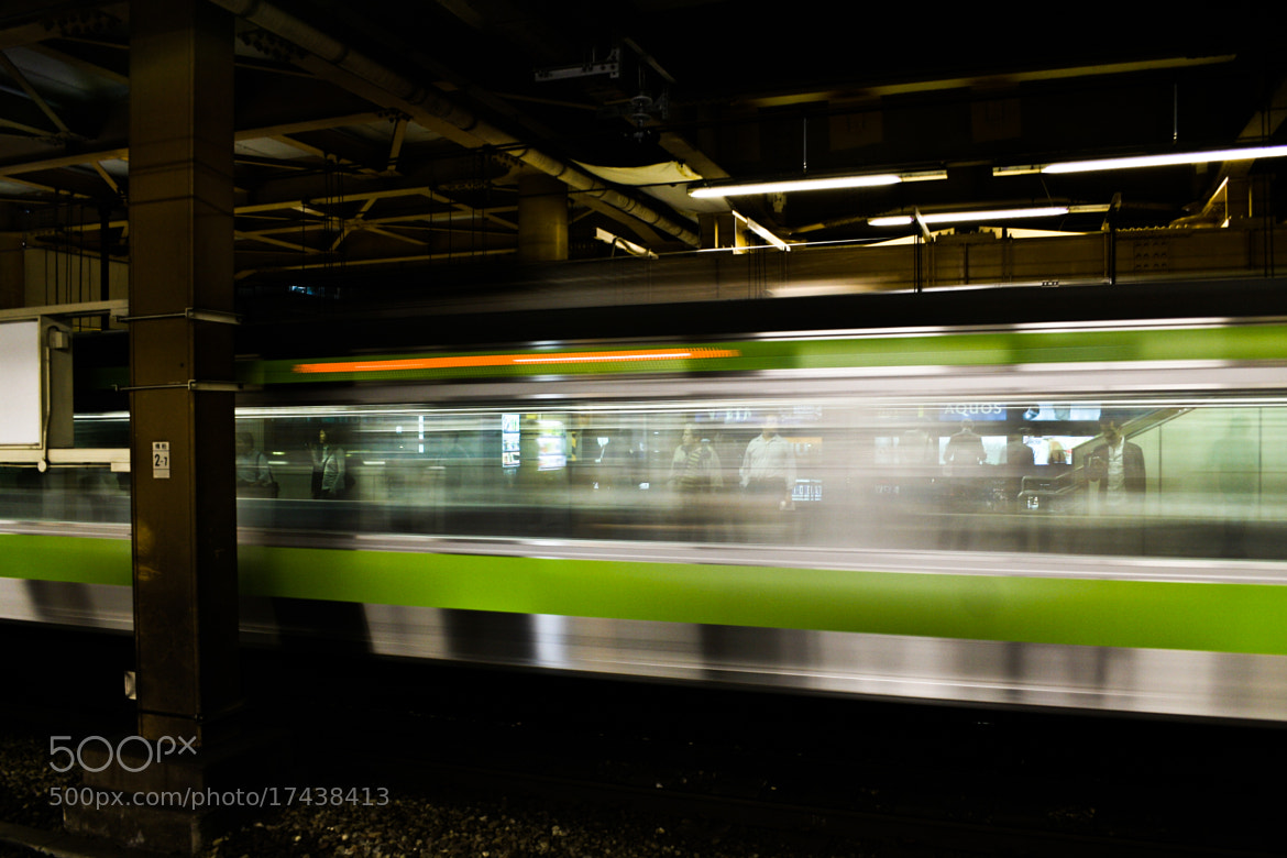 Photograph Yamanote Blur by Bradley Aldridge on 500px