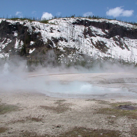 Yellowstone USA, Fujifilm FinePix S20Pro