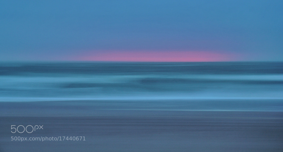 Photograph Panning the sea at sunset by Joost Lagerweij on 500px