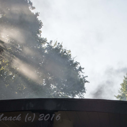 Steamtrain in sunlight, Nikon D600, Sigma 28mm F1.8 EX DG Aspherical Macro