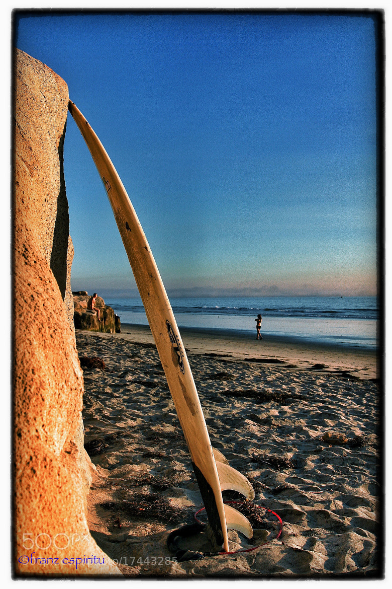 Photograph SoCal Scene: Sufboard, Surfer, Girl, Surf, Snad and Sun. by Franz E on 500px