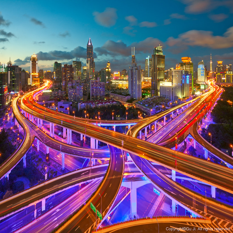 Photograph the junction by Kevin Gu on 500px