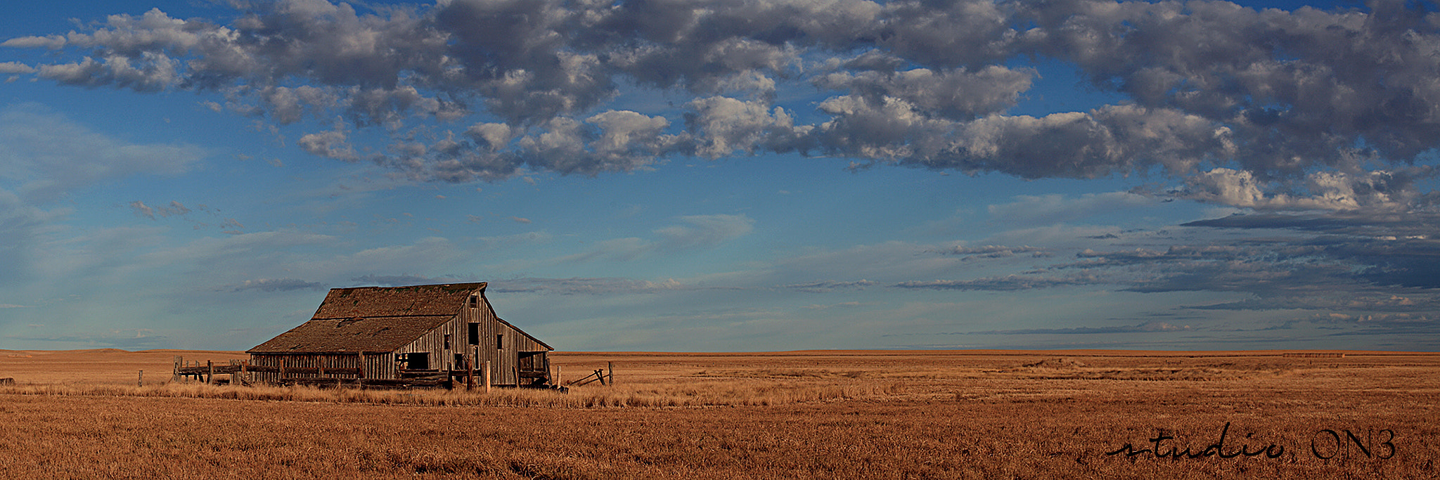 Photograph Bear Butte Barn and Prairie by Deborah Johnson on 500px