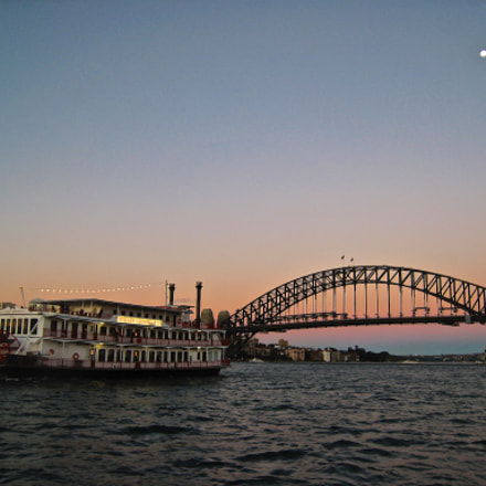 Sydney Harbour Bridge, Canon POWERSHOT SD800 IS