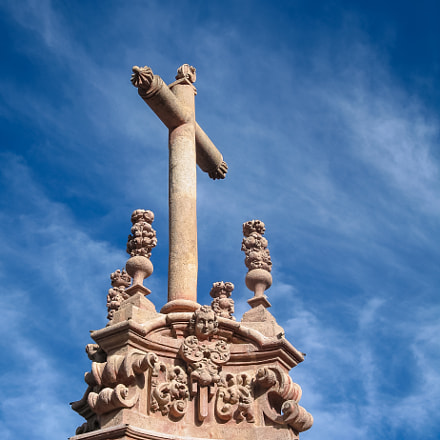 Cross in Taxco, Mexico, Canon POWERSHOT G6