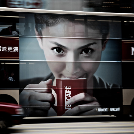 Hong Kong Bus, Canon EOS-1D MARK II N, Canon EF 24-105mm f/4L IS