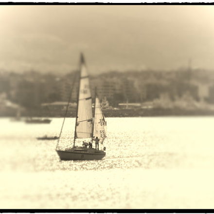 Sailing is the only, Canon IXUS 265 HS