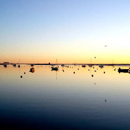 Mersea sunset, Sony DSC-W70