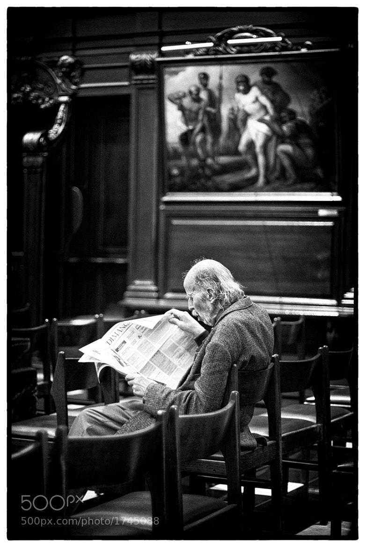 Photograph L'homme moderne (ou Hegel appliqué) by Olivier Janvier on 500px