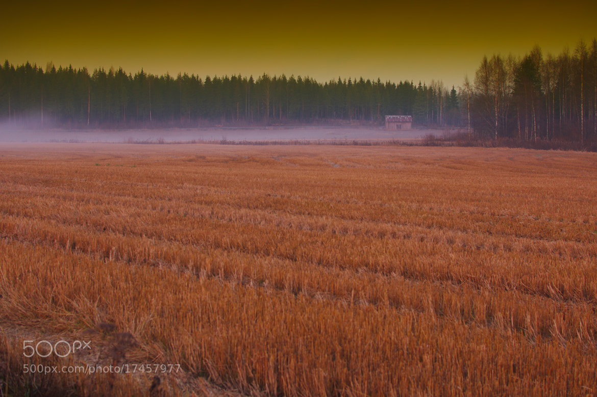 Photograph barn on field by J K on 500px