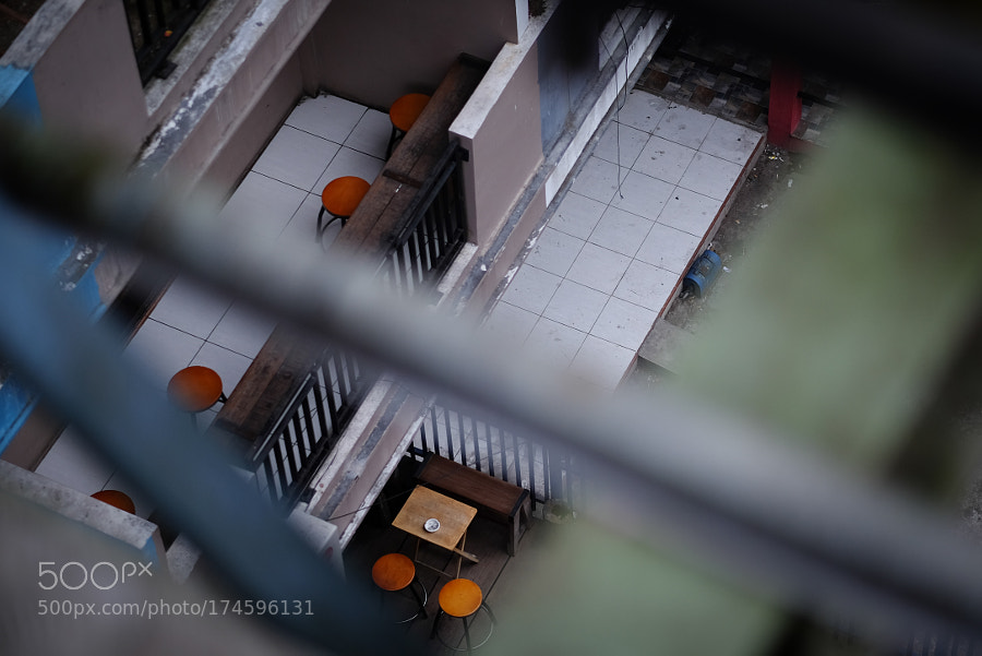 Coffeeshop from top