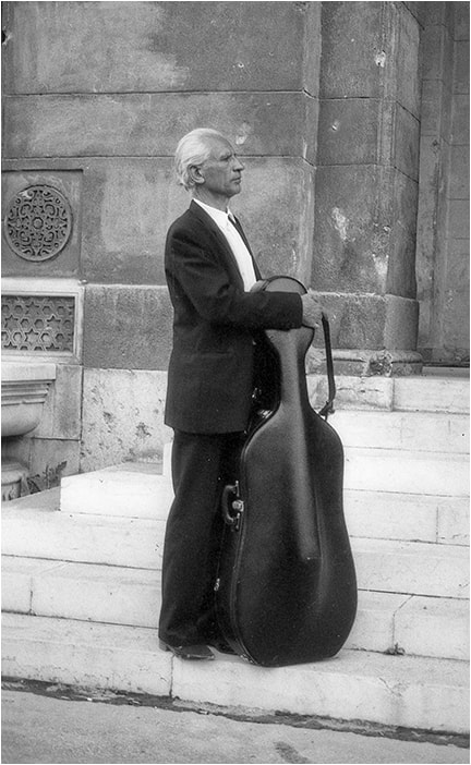 Photograph Cellist by Mirza Ajanovic on 500px