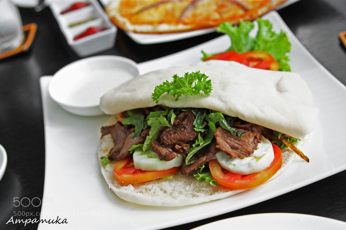 Photograph Pita with Lamb by Suradej Chuephanich on 500px