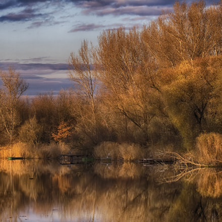 Autumn on the backwater, Canon EOS 7D, Sigma 100-300mm f/4