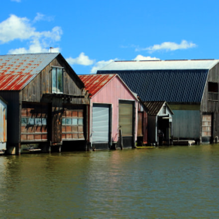 Boathouses, Canon EOS 7D, Canon EF 35-80mm f/4-5.6 USM