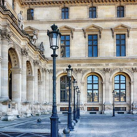 Palais du louvre - Paris - France