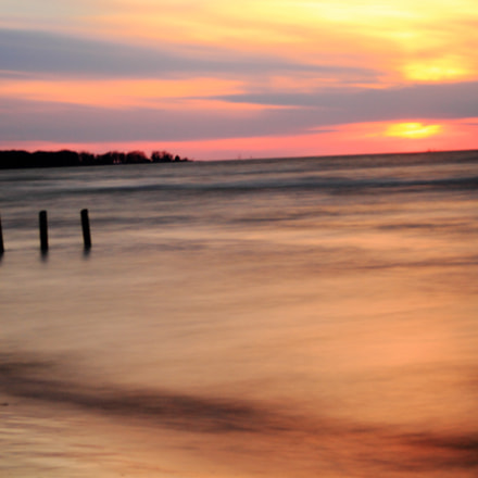 Sunset At Ipperwash, Canon EOS 7D, Canon EF 35-80mm f/4-5.6 USM