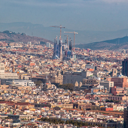 Barcelona from the Cable, Canon EOS 70D, Sigma 18-125mm f/3.8-5.6 DC OS HSM