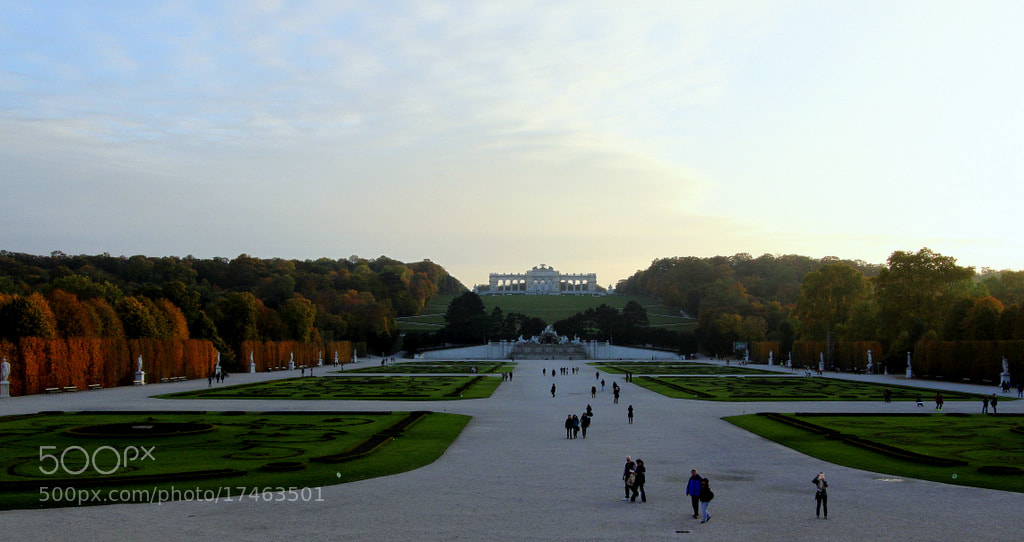 Photograph View on Schönbrunn Park and Gloriette by Rainer Leiss on 500px